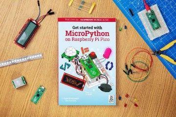 knjige RASPBERRY PI Get Started with MicroPython on Raspberry Pi Pico, MAG49